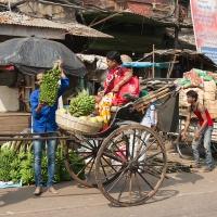 Inde, scène de rue à Kolkata