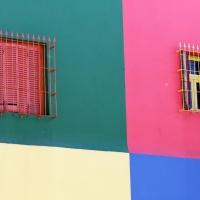 Mur multicolor Buenos Aires